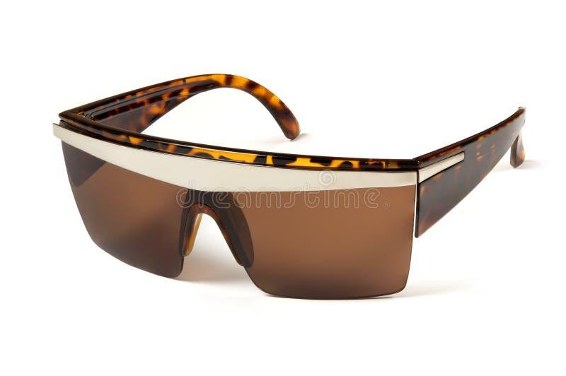 Όμορφα γυαλιά ηλίου με το χρωματισμένο γυαλί στοκ εικόνα με δικαίωμα ελεύθερης χρήσης