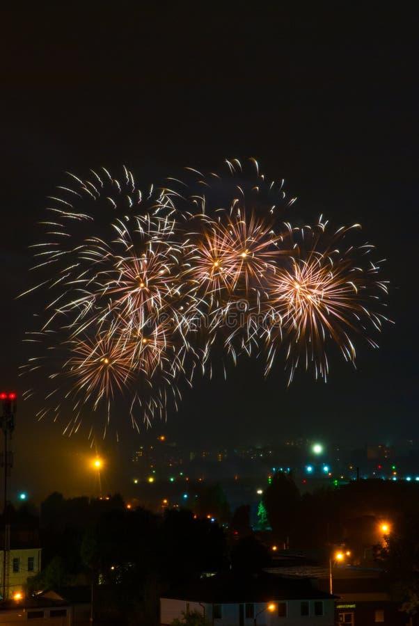 όμορφα πυροτεχνήματα στοκ φωτογραφία με δικαίωμα ελεύθερης χρήσης