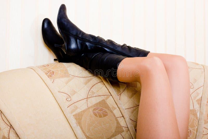 όμορφα πόδια στοκ εικόνες