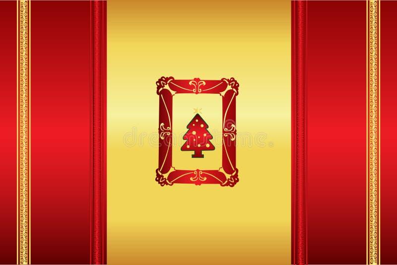 όμορφα Χριστούγεννα ανασ&ka διανυσματική απεικόνιση