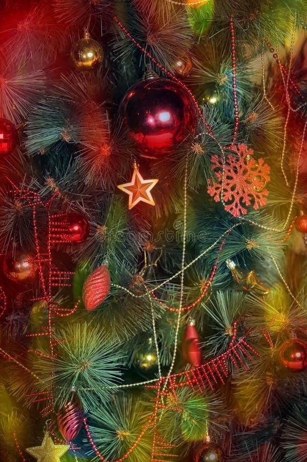 όμορφα Χριστούγεννα ανασ&ka στοκ εικόνες
