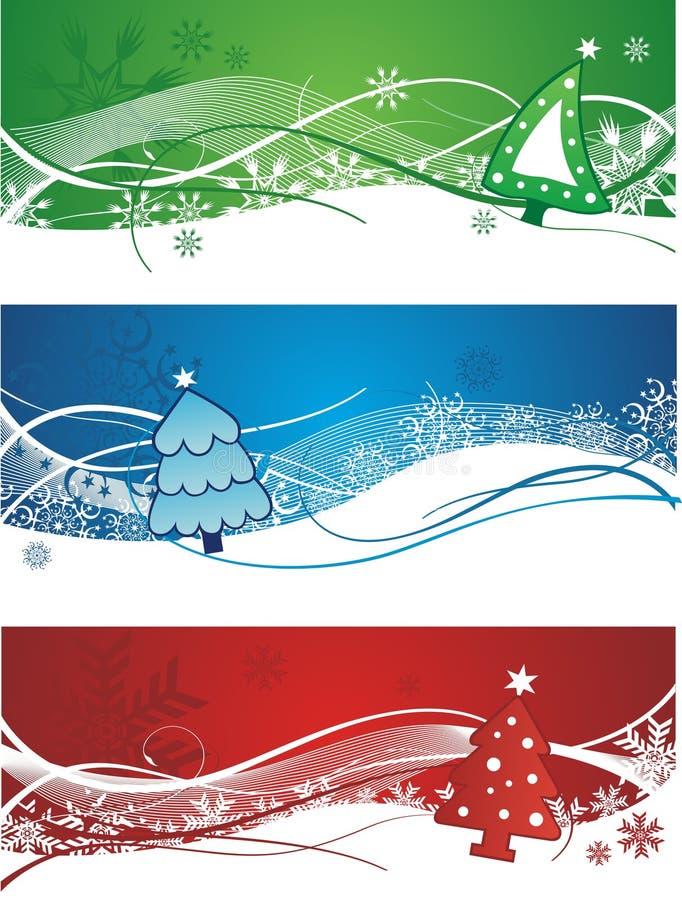 όμορφα Χριστούγεννα εμβλ& απεικόνιση αποθεμάτων