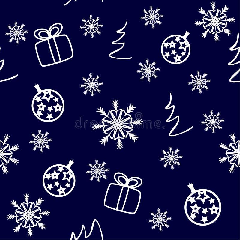 Όμορφα Χριστούγεννα καρτών Χριστουγέννων διανυσματική απεικόνιση