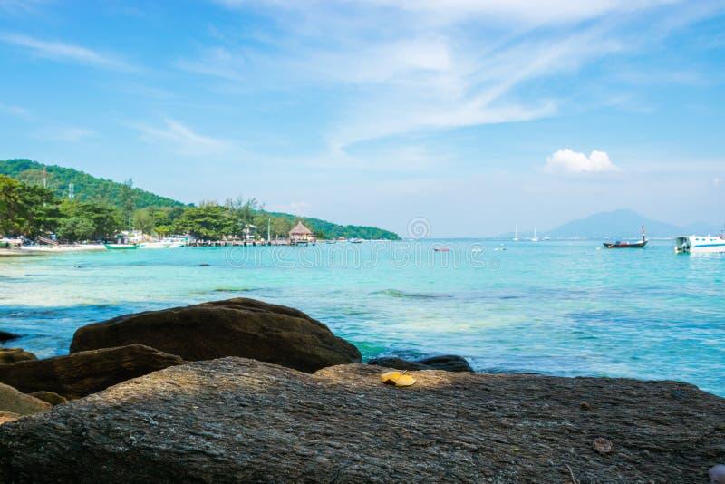 Όμορφες εικόνες τοπίων του νησιού Samed, Rayong, Ταϊλάνδη στοκ εικόνα