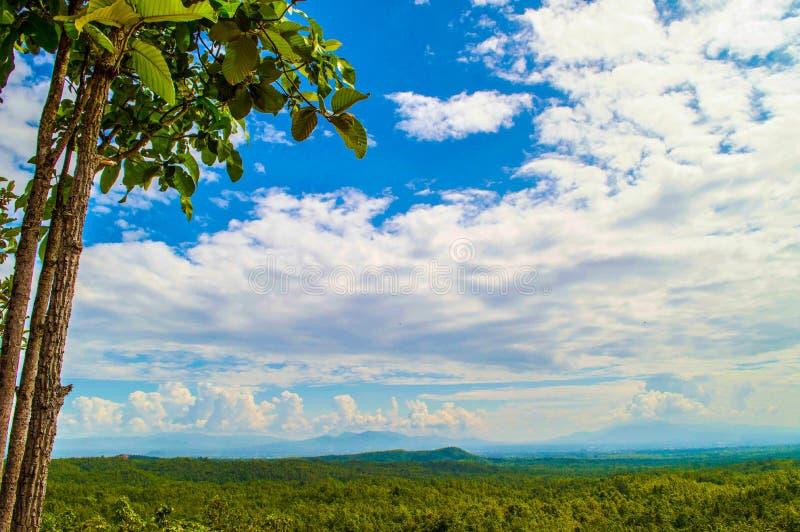Όμορφες θέες βουνού στοκ εικόνες
