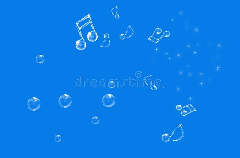 όμορφες μουσικές νότες στοκ φωτογραφία με δικαίωμα ελεύθερης χρήσης
