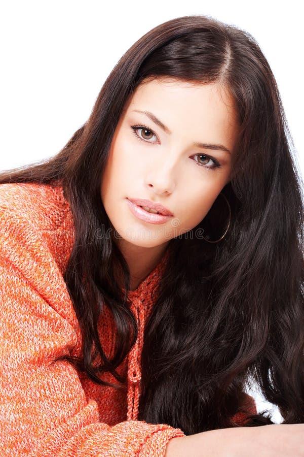 όμορφες νεολαίες μαλλ&iota στοκ φωτογραφίες με δικαίωμα ελεύθερης χρήσης