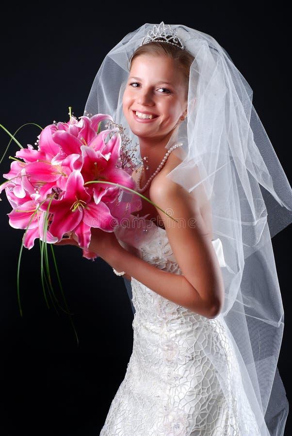 όμορφες νεολαίες νυφών στοκ εικόνες με δικαίωμα ελεύθερης χρήσης
