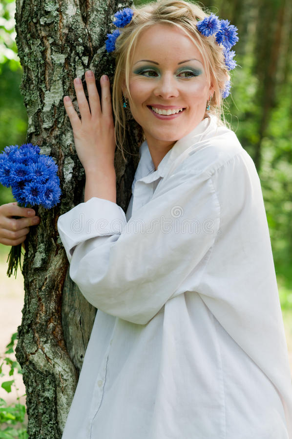 όμορφες νεολαίες λευκών γυναικών στοκ φωτογραφίες