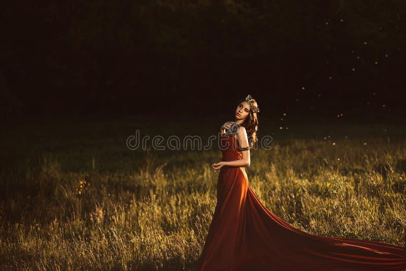 όμορφες νεολαίες πριγκηπισσών στοκ φωτογραφία