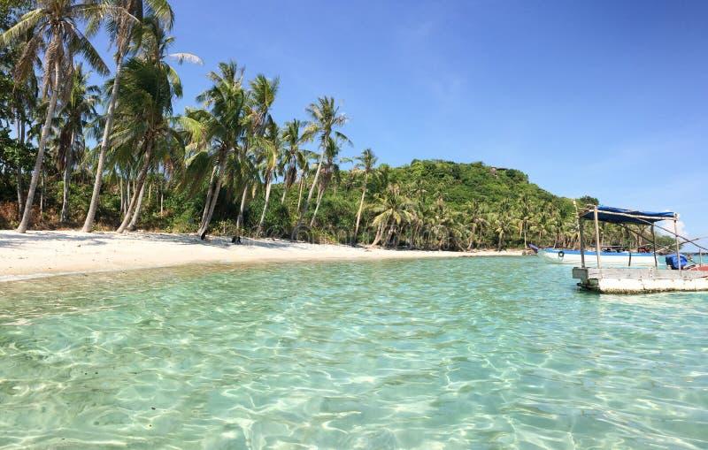 Όμορφες παραλία και θάλασσα σε Phu Quoc, Βιετνάμ στοκ εικόνες