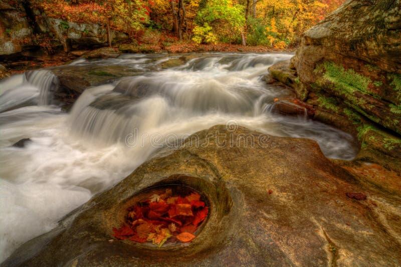 Όμορφες πτώσεις Berea το φθινόπωρο στοκ φωτογραφία με δικαίωμα ελεύθερης χρήσης