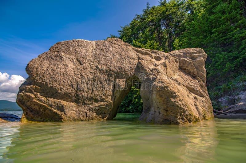 Όμορφες σκηνές τοπίων στη νότια Καρολίνα jocassee λιμνών στοκ φωτογραφία με δικαίωμα ελεύθερης χρήσης