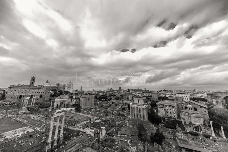 Όμορφες φωτογραφίες της παλαιάς Ρώμης στοκ εικόνες με δικαίωμα ελεύθερης χρήσης