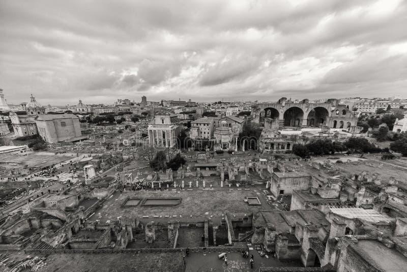 Όμορφες φωτογραφίες της παλαιάς Ρώμης στοκ εικόνες