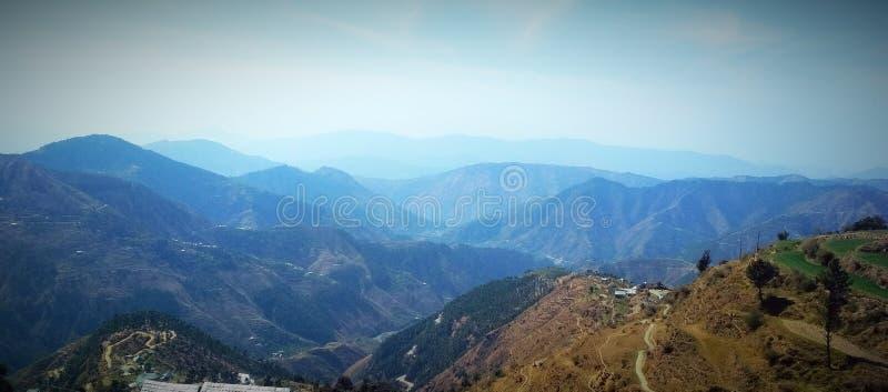 Όμορφη άποψη βουνών στοκ εικόνα