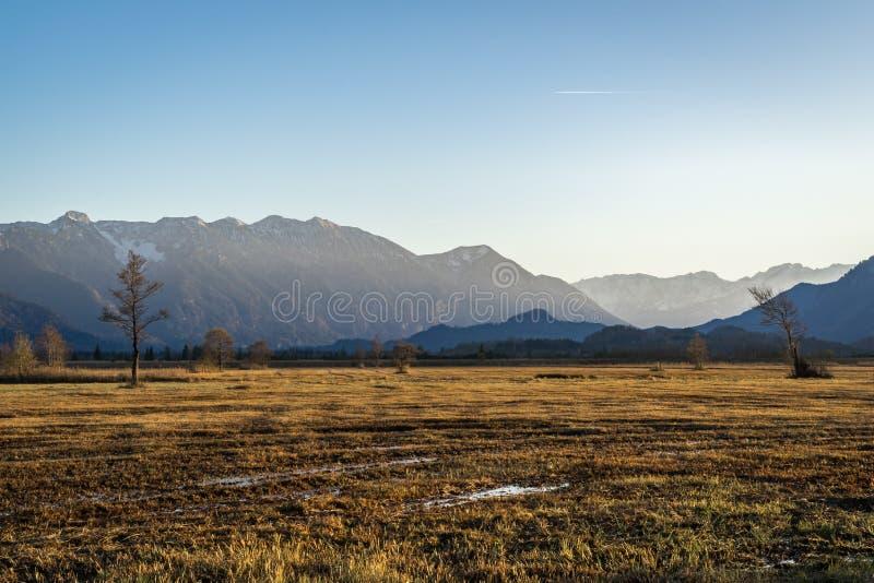 Όμορφη άποψη στα μουγκρητά Murnauer στη Βαυαρία στοκ φωτογραφίες με δικαίωμα ελεύθερης χρήσης