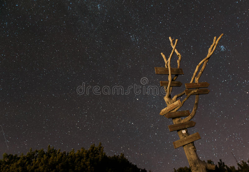 Όμορφη άποψη στο planina Velika στοκ φωτογραφία με δικαίωμα ελεύθερης χρήσης