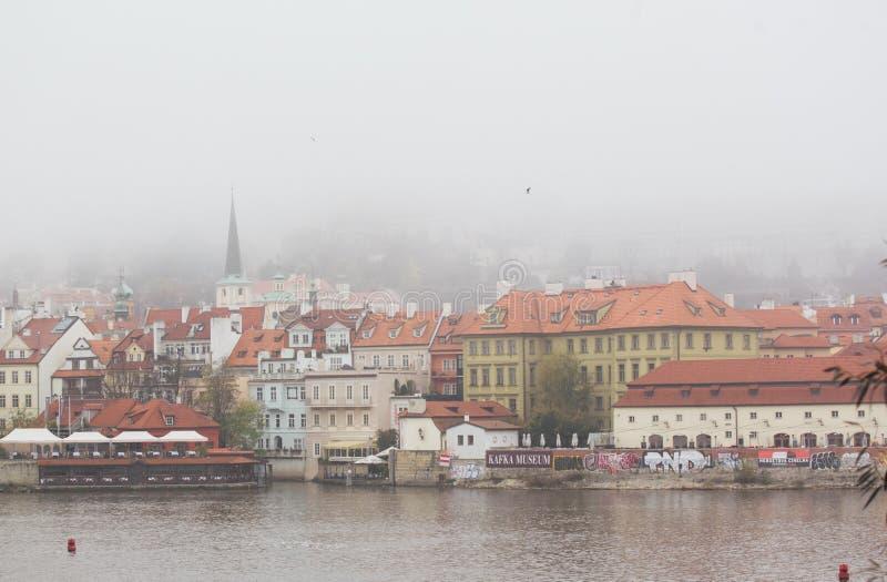 Όμορφη άποψη της παλαιάς πόλης της Πράγας στοκ φωτογραφία με δικαίωμα ελεύθερης χρήσης