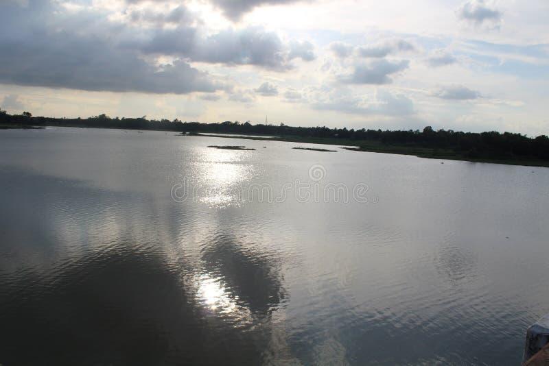 Όμορφη άποψη της πλευράς gazipur pubail στοκ φωτογραφίες με δικαίωμα ελεύθερης χρήσης