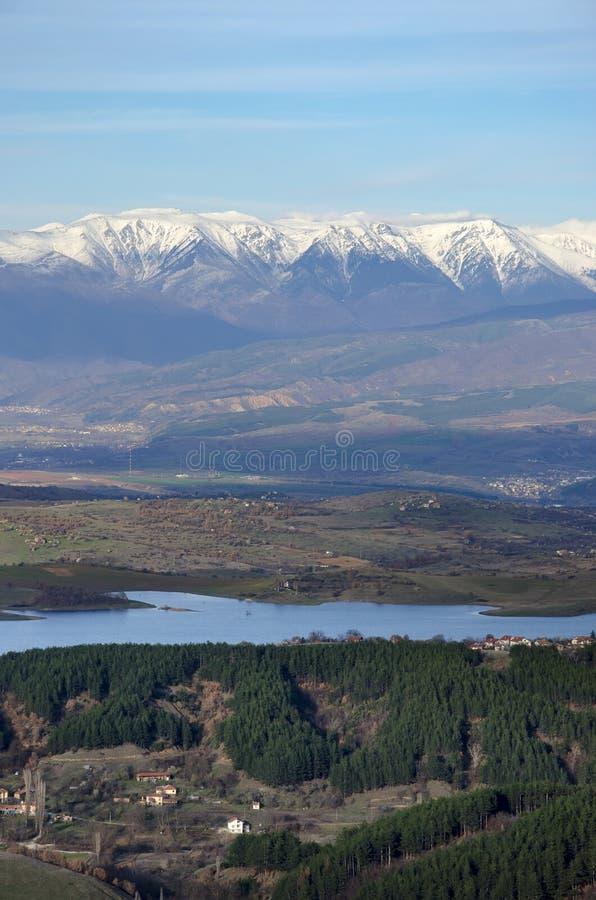 Όμορφη άποψη τοπίων του βουλγαρικού βουνού pirin στοκ εικόνες με δικαίωμα ελεύθερης χρήσης