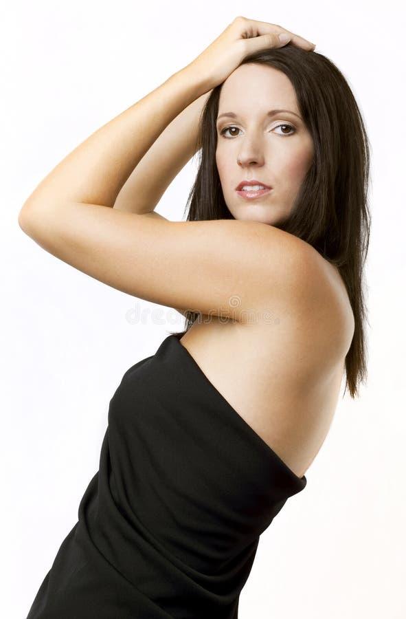όμορφη αγκώνες γυναίκα στοκ φωτογραφίες