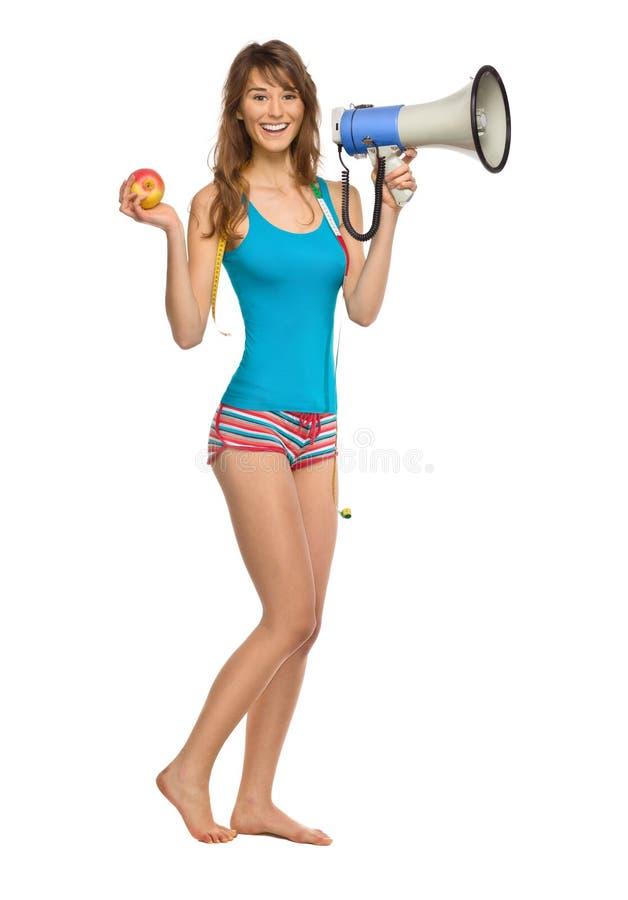 όμορφη αθλήτρια στοκ εικόνα με δικαίωμα ελεύθερης χρήσης