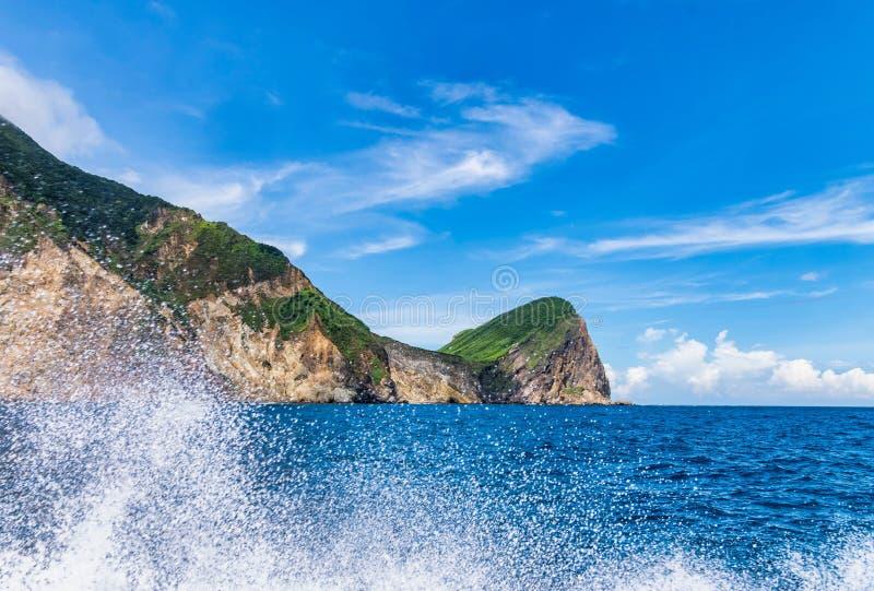 Όμορφη ακτή στην Ταϊβάν στοκ εικόνα με δικαίωμα ελεύθερης χρήσης