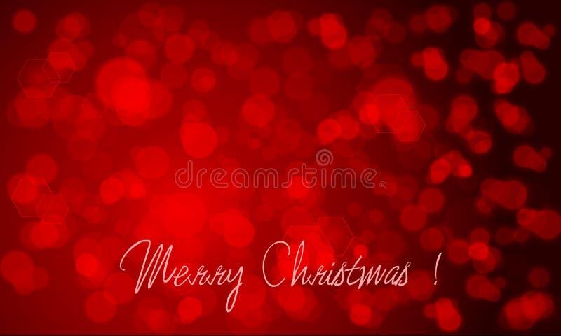 Όμορφη ανασκόπηση Χριστουγέννων ελεύθερη απεικόνιση δικαιώματος