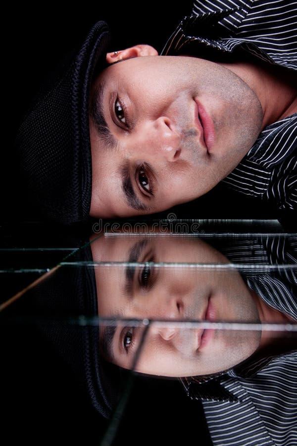 όμορφη αντανάκλαση ατόμων π&rho στοκ εικόνες με δικαίωμα ελεύθερης χρήσης