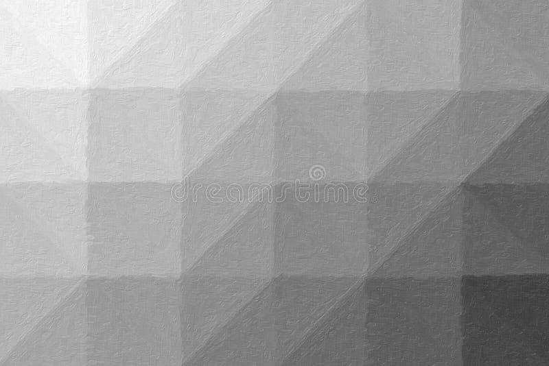 Όμορφη αφηρημένη απεικόνιση του γκρίζου ρεαλιστικού χρώματος Impasto Χρήσιμο υπόβαθρο για το πρόγραμμά σας διανυσματική απεικόνιση