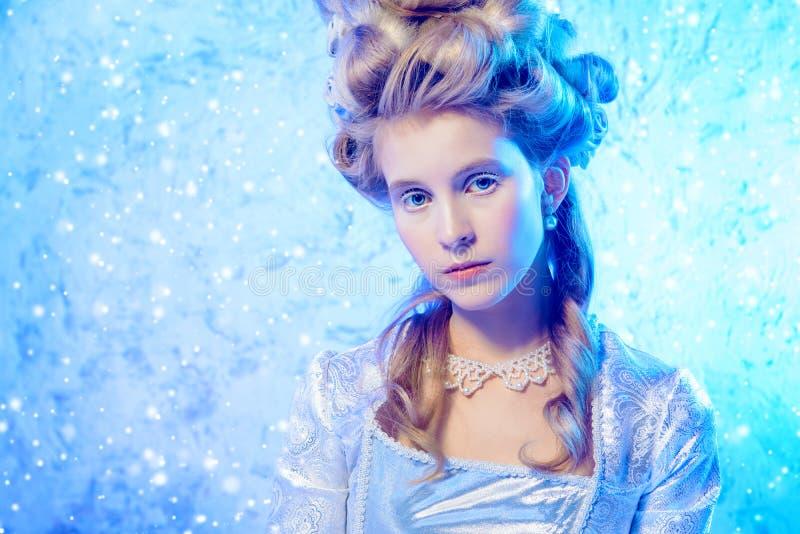 όμορφη βασίλισσα πάγου στοκ φωτογραφίες