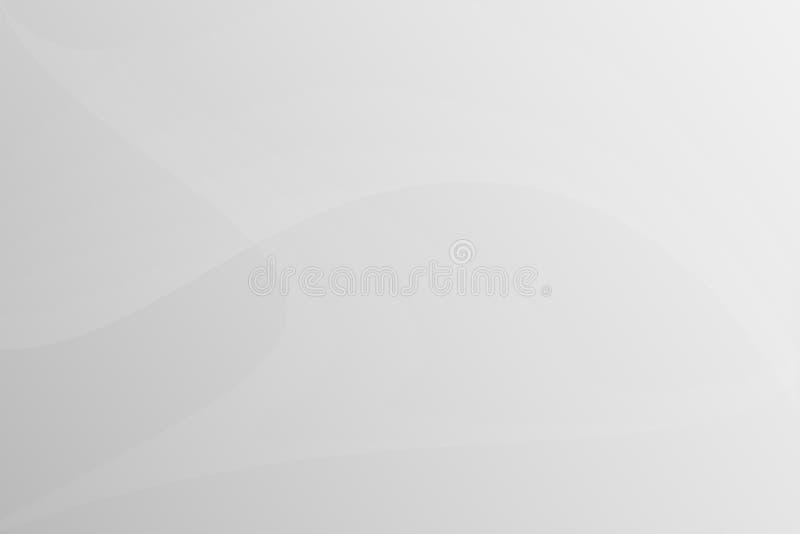 Όμορφη γκρίζα περίληψη καμπυλών ελεύθερη απεικόνιση δικαιώματος