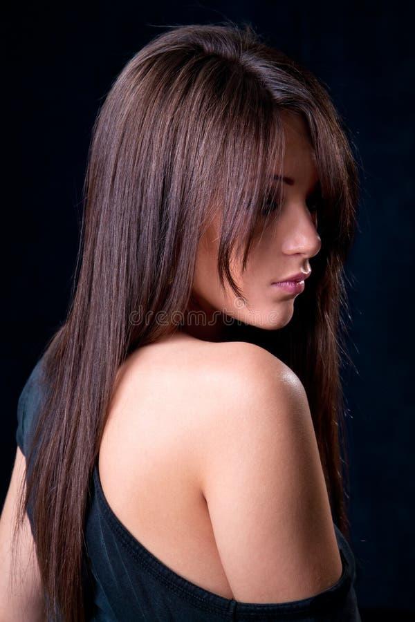 όμορφη γοητευτική γυναίκ& στοκ εικόνες με δικαίωμα ελεύθερης χρήσης