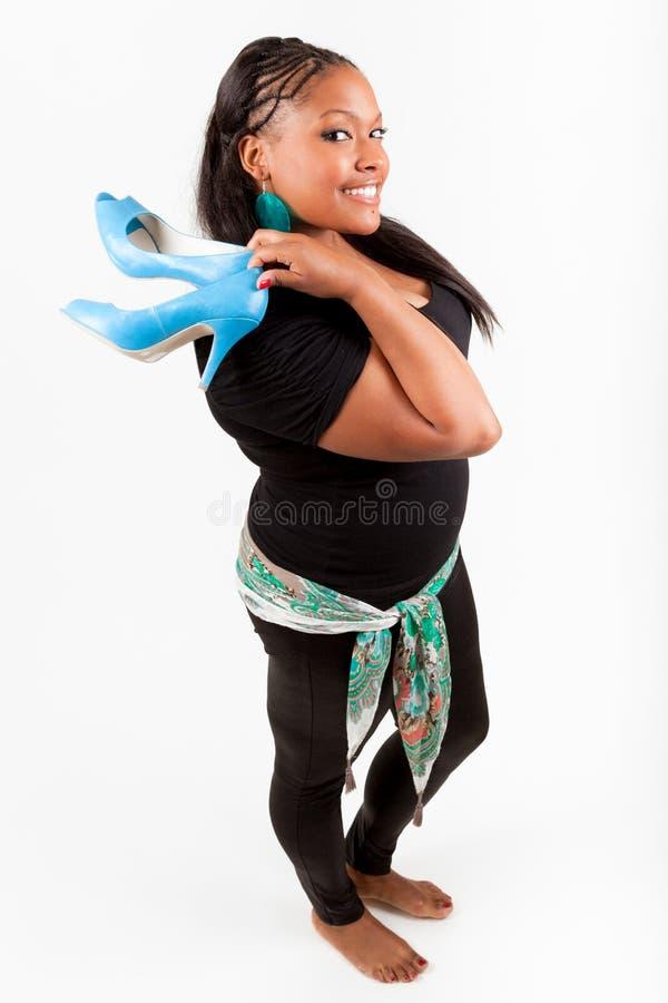 όμορφη γυναίκα αφροαμερι στοκ εικόνα με δικαίωμα ελεύθερης χρήσης