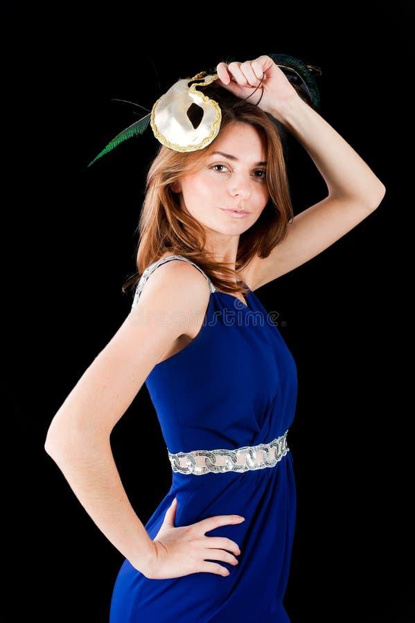 Download όμορφη γυναίκα μασκών στοκ εικόνα. εικόνα από θηλυκό - 22780509