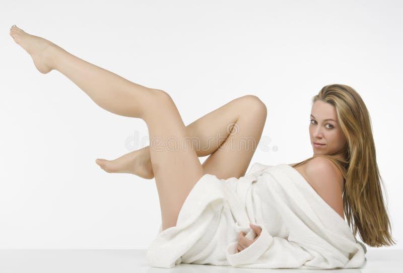 όμορφη γυναίκα μορίων ποδι στοκ εικόνες με δικαίωμα ελεύθερης χρήσης