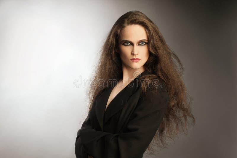 όμορφη γυναίκα πορτρέτου μ στοκ εικόνα με δικαίωμα ελεύθερης χρήσης