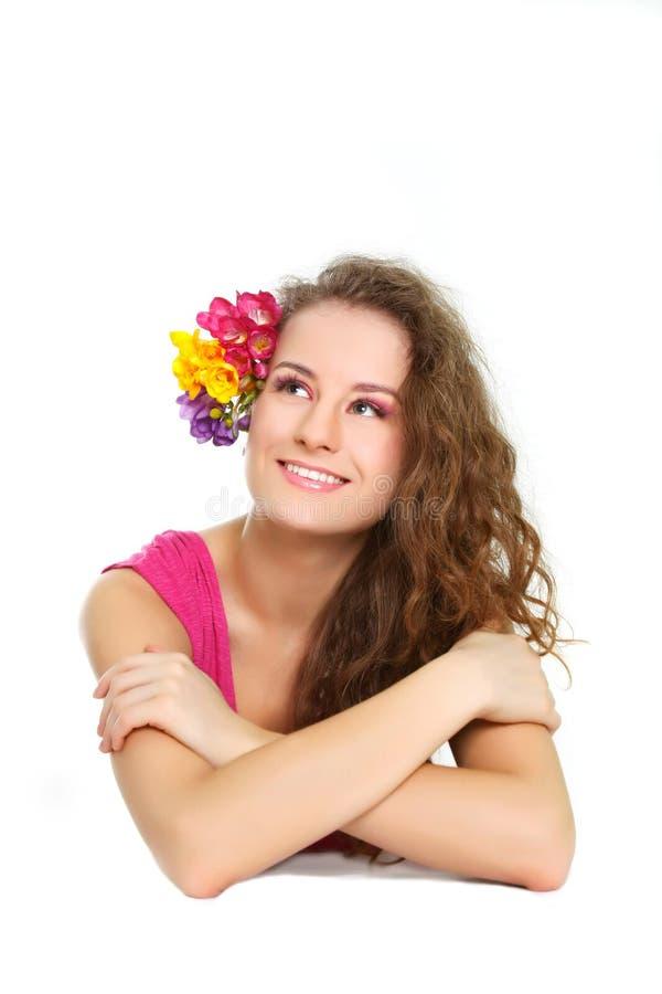 Download όμορφη γυναίκα πορτρέτου στοκ εικόνες. εικόνα από καυκάσιος - 13178946