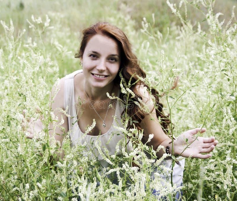 όμορφη γυναίκα πορτρέτου στοκ εικόνες με δικαίωμα ελεύθερης χρήσης
