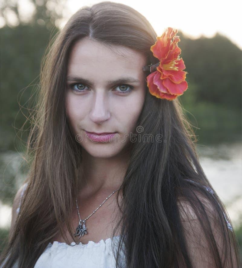 Download όμορφη γυναίκα πορτρέτου στοκ εικόνες. εικόνα από αρκετά - 62722878