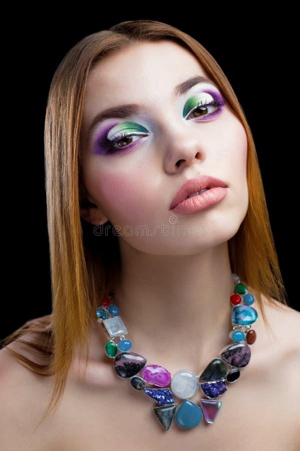 όμορφη γυναίκα προσώπου στοκ εικόνες με δικαίωμα ελεύθερης χρήσης