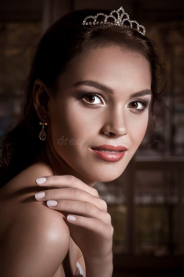 όμορφη γυναίκα προσώπου s στοκ εικόνα με δικαίωμα ελεύθερης χρήσης