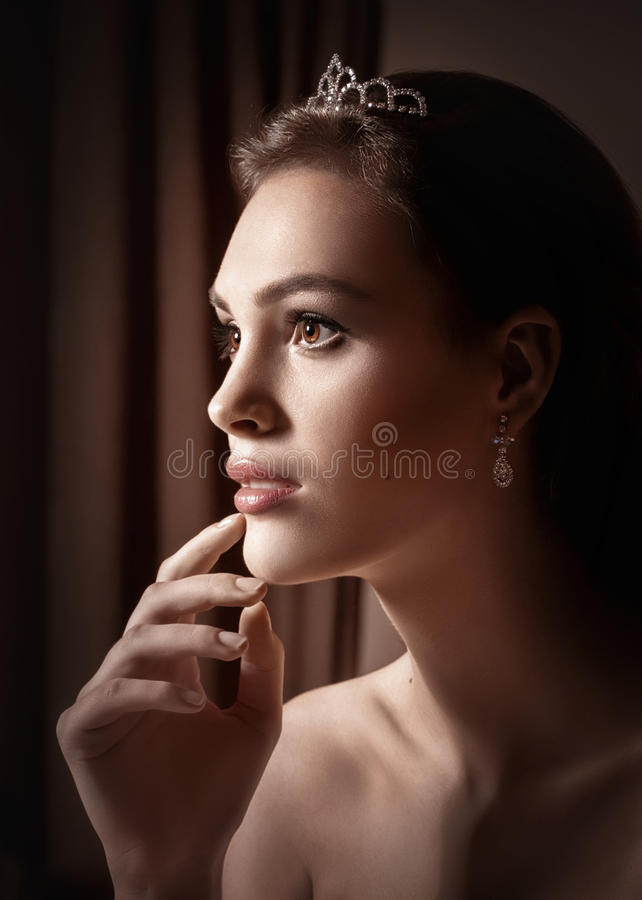 όμορφη γυναίκα προσώπου s στοκ εικόνες με δικαίωμα ελεύθερης χρήσης