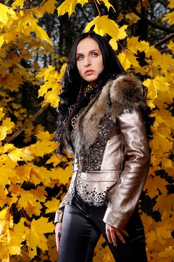 όμορφη γυναίκα φύσης ανασ&kapp στοκ εικόνες
