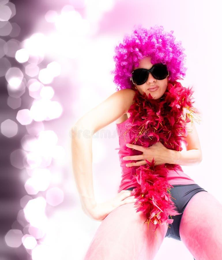 όμορφη γυναίκα ύφους χορ&omic στοκ εικόνα με δικαίωμα ελεύθερης χρήσης
