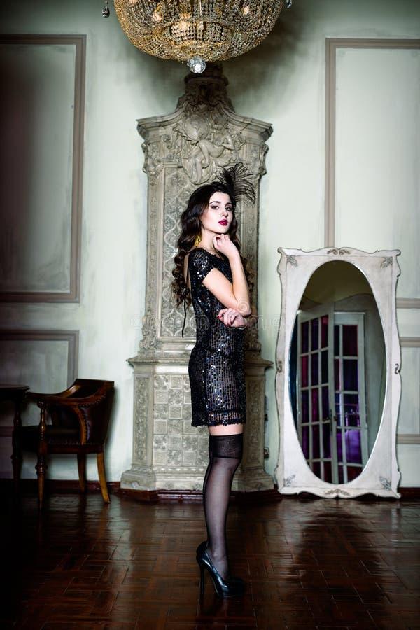 Όμορφη γυναίκα Brunette στοκ εικόνες
