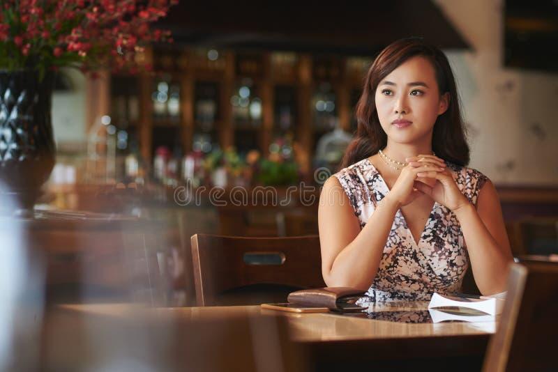 Όμορφη γυναίκα Chienese στοκ εικόνα με δικαίωμα ελεύθερης χρήσης