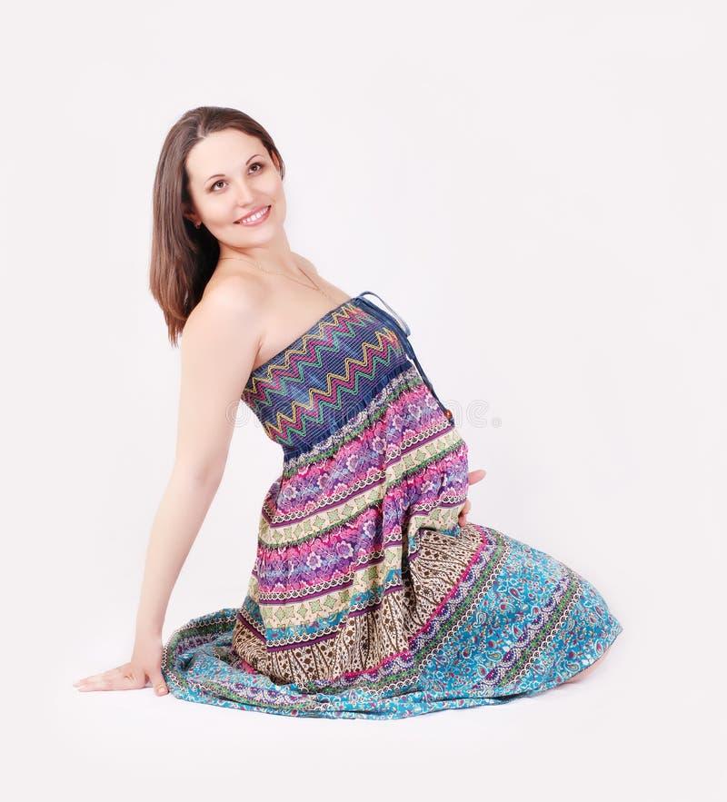 όμορφη εγκυμοσύνη στοκ εικόνα με δικαίωμα ελεύθερης χρήσης