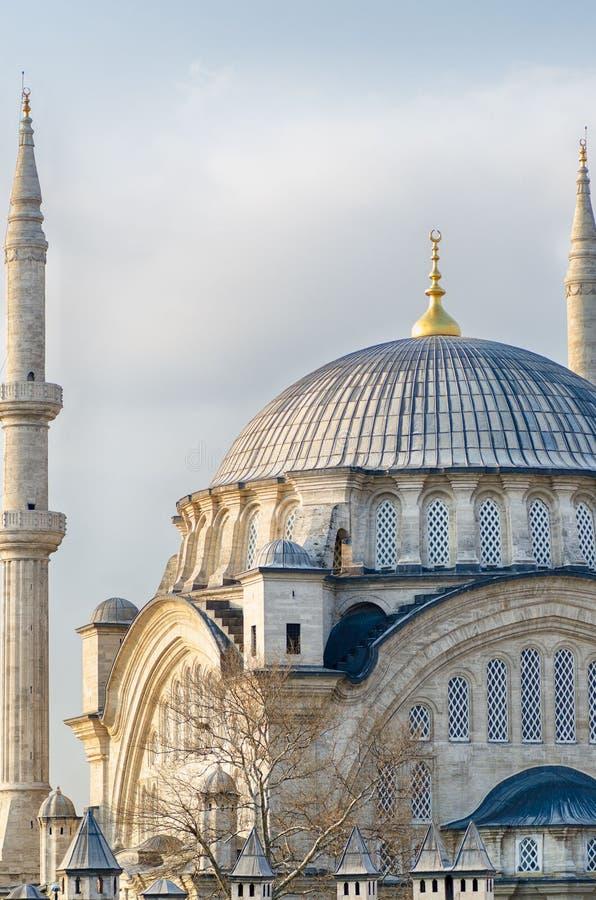 Όμορφη εικόνα του μουσουλμανικού τεμένους της Ιστανμπούλ στοκ φωτογραφία με δικαίωμα ελεύθερης χρήσης